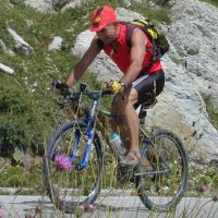 Mountain-bike in cansiglio